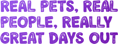 real pets, real people, really great days out